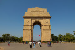 India Gate in Delhi Stock Photos
