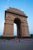 India Gate Evening Blue Sky Vertical Stock Images