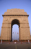 India gate in the evening sky, delhi Royalty Free Stock Photography