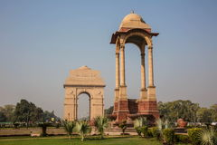 India Gate in front Royalty Free Stock Image