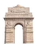 India Gate isolated on white royalty free stock images
