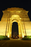 India Gate with lights at night, New Delhi, India Stock Photos