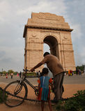 The India Gate Stock Images