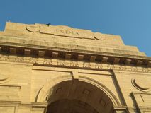 India Gate. Memoir of  first world war indian soldiers Royalty Free Stock Photos