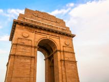 India Gate memorial of the first world war in Delhi, India Stock Image