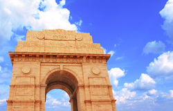India Gate memorial in New Delhi, India Royalty Free Stock Photography