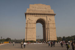 The India Gate is a national monument of India Royalty Free Stock Photography
