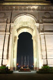 India Gate - National Monument of India at Night Stock Photography