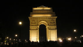 INDIA GATE. The India Gate is a national monument of India. Situated in the heart of New Delhi.It commemorates the 70,000 Indian soldiers who lost their lives Stock Photos