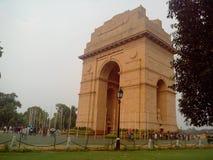 India gate. At new delhi Stock Photography