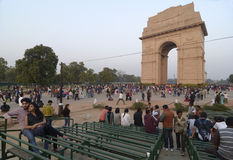 India Gate at New Delhi Stock Photos