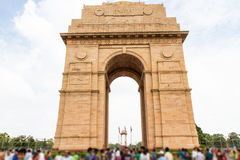 India Gate in New Delhi, India royalty free stock photos