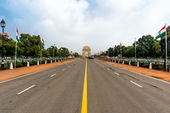 India Gate, New Delhi, India. India Gate historical memorial in New Delhi, India Stock Images
