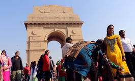 India Gate, New Delhi, India Royalty Free Stock Photo
