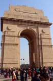 India Gate, New Delhi, India Royalty Free Stock Photo