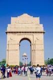 India gate at New Delhi!!. War monument India Stock Photos