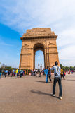 India Gate a war memorial in New Delhi Royalty Free Stock Images