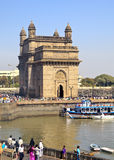 India Gateway from Taj Ocean View Royalty Free Stock Photography