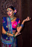 India girl. Beautiful woman india beauty girl traditional dress stock photos