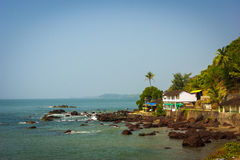 India. Goa. Beautiful sea landscape Royalty Free Stock Image