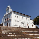 India. Goa. Catholic church Royalty Free Stock Image