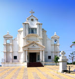 India. Goa. Catholic church Stock Photography
