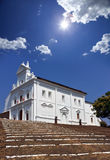 India. Goa. Catholic church at hill top Royalty Free Stock Image