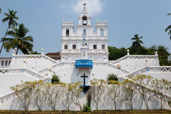 India, Goa. Church of Mary Immaculate Conception in Panaji Royalty Free Stock Images