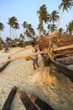India - Goa - Colva beach Royalty Free Stock Photography