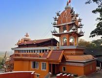 India. Goa. Hanuman temple. Stock Photo
