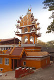 India. Goa. Hanuman temple in  sunny day Stock Images