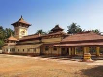 india goa hinduiskt tempel fotografering för bildbyråer