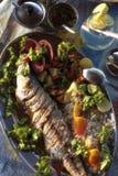 India - Goa - Palolem beach - King Fish Stock Photos