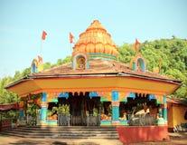 India Goa Querim. February 20,2013. AJOBA TEMPLE Royalty Free Stock Photos