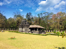 India. Goa. The only remained Mahadev temple the XIII century in Tambdi Surla. Royalty Free Stock Images