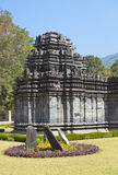 India. Goa. The only remained Mahadev temple the XIII century in Tambdi Surla Stock Images