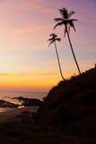 India, Goa, Vagator - zdjęcia stock