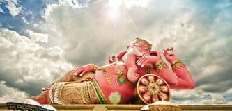 India God Ganesha or God of success Stock Photo