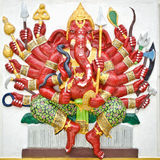 India God Ganesha or God of success Royalty Free Stock Photos