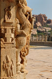 India - Hampi stock photography