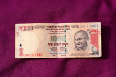 India has banned old 500 and 1000 rupee note Royalty Free Stock Image