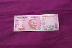 India has banned old 500 and 1000 rupee note Royalty Free Stock Photos