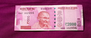 India has banned old 500 and 1000 rupee note Royalty Free Stock Photography