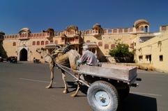 India - Hawa Mahal Palace Stock Images