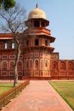 India: Het Rode Fort van Agra Royalty-vrije Stock Afbeeldingen