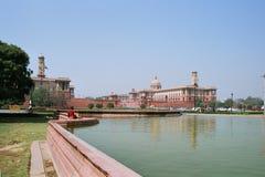 India, het Secretariaat. Stock Foto's