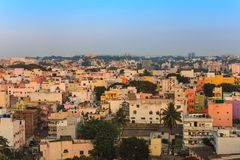 Bangalore city skyline - India Stock Photography