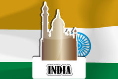 India, illustration Stock Image