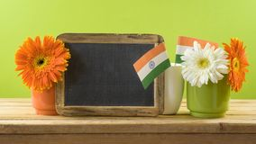 India Independence day background Stock Photos