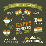 India Independence Day Collection Stock Photos